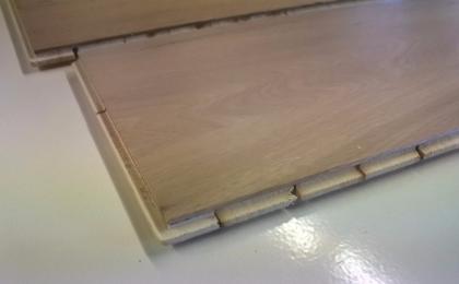 Podłoga drewniana biały dąb